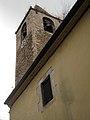 14 Sant Genís dels Agudells, rectoria i campanar.jpg