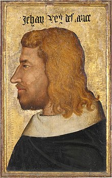 14th-century unknown painters - Portrait of Jean le Bon, King of France - WGA23666.jpg