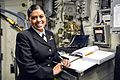 150205-N-ZZ786-068 - SN Veronica Ramirez stands quarterdeck on USS Antietam.jpg