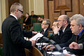 16. februāra Saeimas sēde (6885477815).jpg