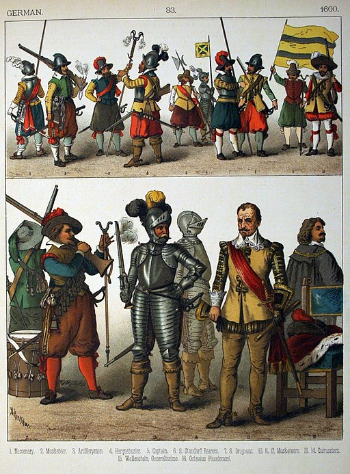 1600, German. - 083 - Costumes of All Nations (1882)