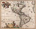 1658 Visscher Map of North America and South America - Geographicus - America-visscher-1658.jpg