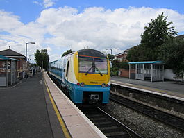 175006 at Ludlow railway station - IMG 0145.JPG