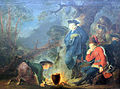 1791 Rode Friedrich der Große vor der Schlacht bei Torgau anagoria.JPG