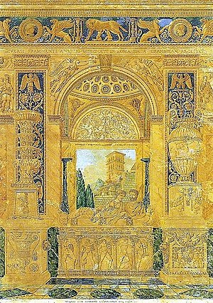 Auguste-Henri-Victor Grandjean de Montigny - Image: 1808 Diversi Frammenti antichi a Roma (Aquarell)