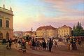 1839 Bruecke Parade vor dem Koeniglichen Palais anagoria.JPG