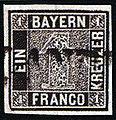 1849 1kr tiefschwarz Bayern linear SEM 1 Ib.jpg