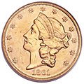 1861 $20 Paquet Double Eagle (obv).jpg