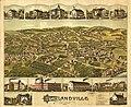1887 bird's eye view map of Highlandville, Massachusetts LOC 74693296.jpg