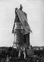 Unveiling of the Equestrian Statue of Robert E. Lee, May 29, 1890. Richmond, Virginia.