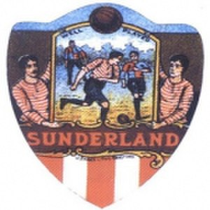 History of Sunderland A.F.C. - Early souvenir card dating back from around 1890.