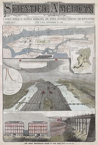 History of transportation in New York City - 1892 depiction of infrastructure newly built, later built, or never built