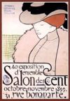 1899 Salon des Cent poster by Henri Evenepoel.png