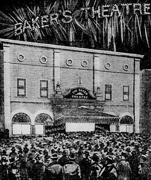 Playhouse Theatre (Portland, Oregon) - Baker Theatre depicted in The Oregonian in 1902