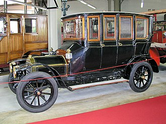 Berlin (carriage) - 1908 FN 2000 berline