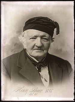 1909 - Henry Shaw - portrait in nightcap - MoBOT GPN 1982-0180.jpg
