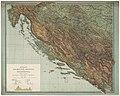 1913 - General Karte von Dalmatien, Bosnien und der Hercegovina.jpg