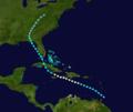1928 Atlantic hurricane 2 track.png