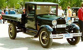 Ford Model AA - Image: 1929 Ford Model AA Truck DGO099