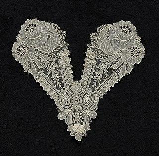 Point de Gaze needle lace from Belgium