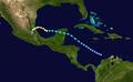 1947 Atlantic hurricane 2 track.png