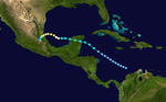 1947 Atlantic hurricane 2 track.png
