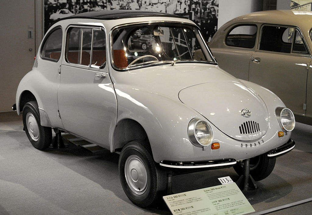 Seiko Subaru 360 1024px-1958_Subaru_360_01