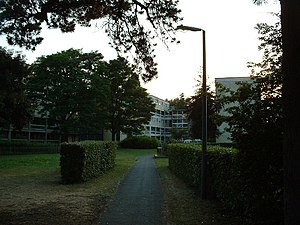 Townhill Park - Townhill Park has blocks of flats of various designs