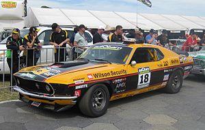 John Bowe (racing driver) - The 1969 Ford Mustang of John Bowe - 2011 Touring Car Masters
