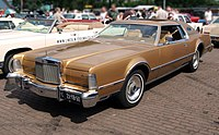 1975 Lincoln Continental Mark IV, Dutch licence registration 21-YB-60 p1.JPG