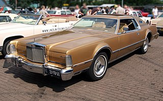 Lincoln Continental Mark IV Motor vehicle