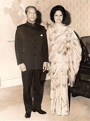 Abul Fateh - Abul and Mahfuza Fateh in 1976