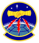 1986 Communications Sq emblem.png