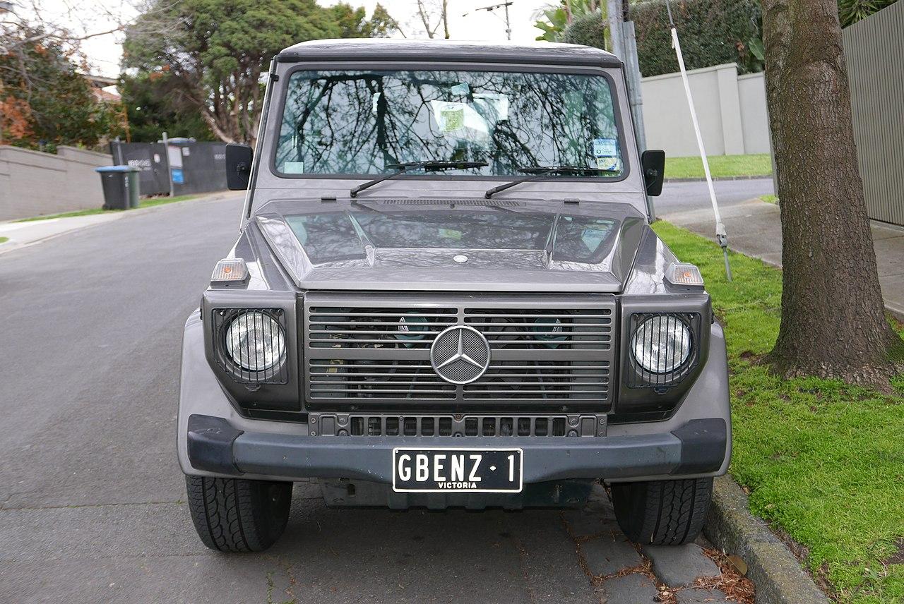 File 1987 mercedes benz 230 ge g 460 3 door wagon 2015 for Mercedes benz toorak