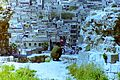 1996 in Aleppo. Syrian soldier looking from citadel. Spielvogel Archiv.jpg