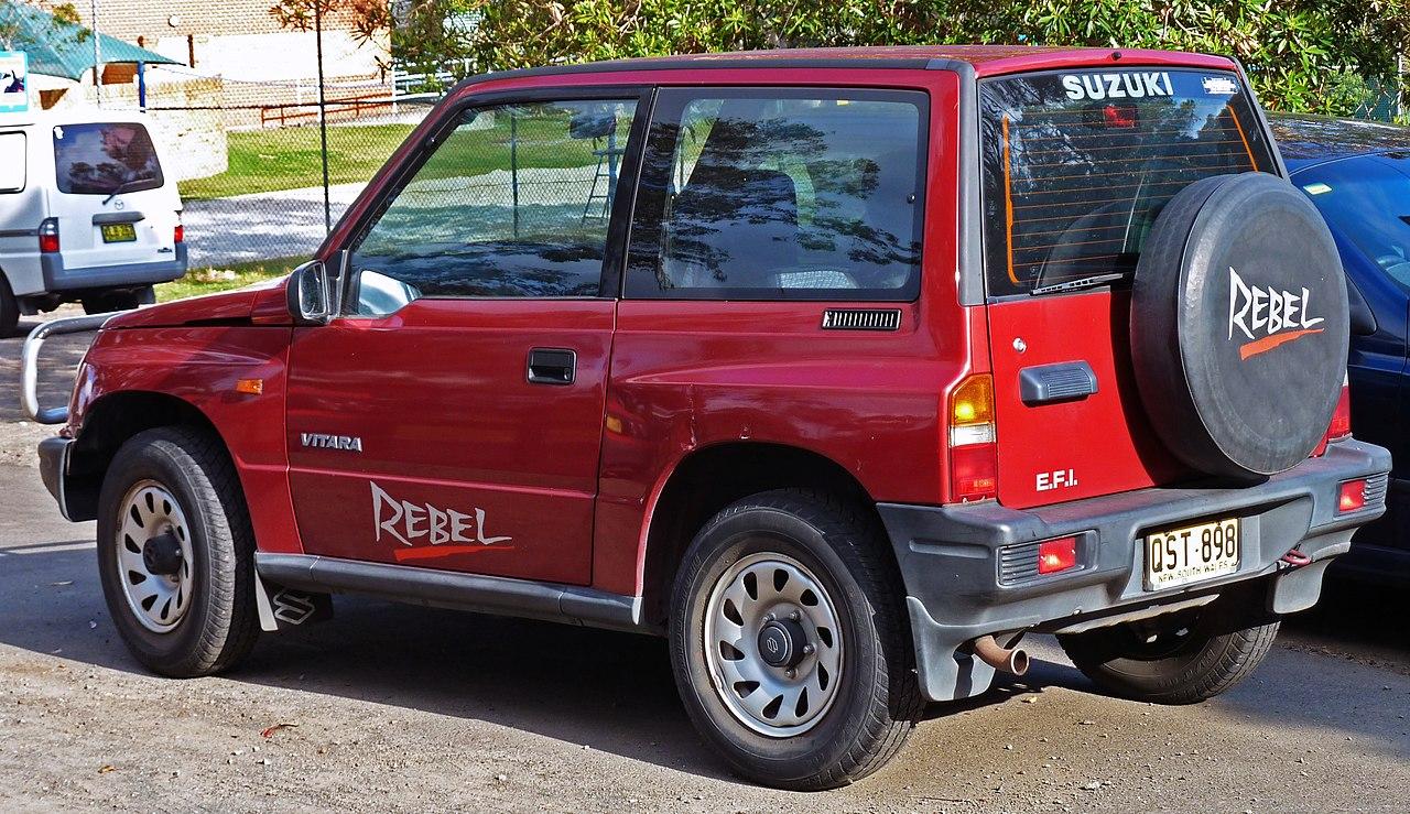 Suzuki Sidekick Transmission Removal