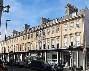 Grade I listed buildings in Bath and North East Somerset - Image: 1A and 1 6, Wood Street, Bath