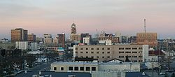 Skyline of City of Lansing