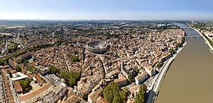 Arles - Aerial view of Arles