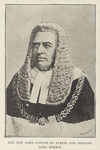 Attorney-General for Ireland - Michael Morris, later Lord Killanin, Attorney-General for Ireland from 1866 to 1867.