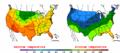 2002-09-26 Color Max-min Temperature Map NOAA.png