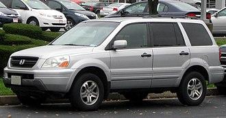 Honda Pilot - 2003-2005 Honda Pilot