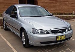 2005 Ford Falcon (BA II) XT sedan (2007-03-08).jpg