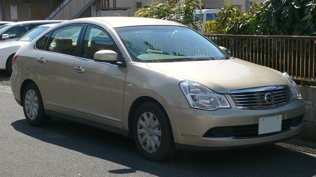 File:2005 Nissan Bluebird-Sylphy 01.jpg - Wikimedia Commons