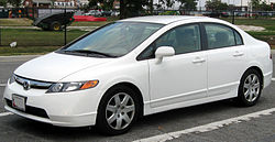 2006-2008 Honda Civic LX sedan (US)
