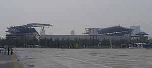 Olympic Sports Centre (Beijing) - The stadium of the Olympic Sports Centre