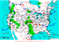 2009-02-09 Surface Weather Map NOAA.png