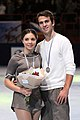 2009 Trophée Éric Bompard Pairs - Jessica DUBE - Bryce DAVISON - Silver Medal - 7299a.jpg