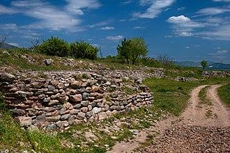 Mosynopolis - Image: 20100418 Maximianoupolis Mosynopolis Rhodope Thrace Greece 1