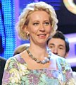 2011-11-13 Tatiana Lazareva на юбилейном выпуске передачи КВН-50 (06).jpeg